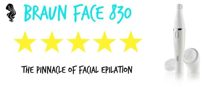 braun face 830 review