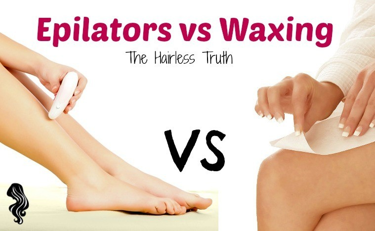 The Epilator vs Waxing: The Hairless Truth