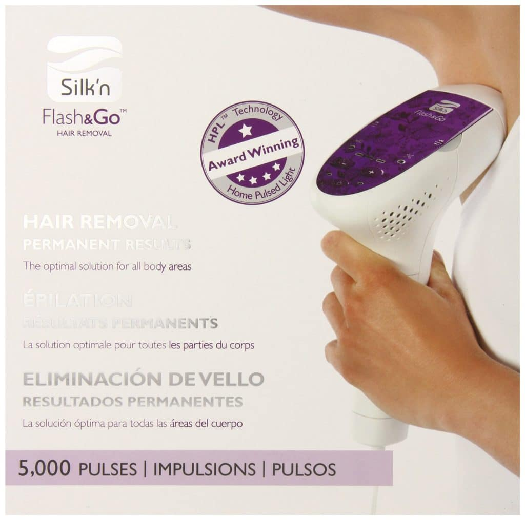 Silk Flash&Go Permanent Laser Hair Removal