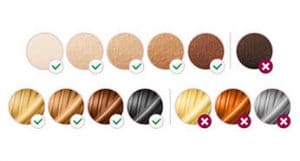 skin color chart for philips lumea prestige