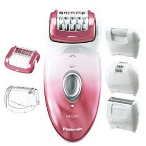 panasonic epilator package contents