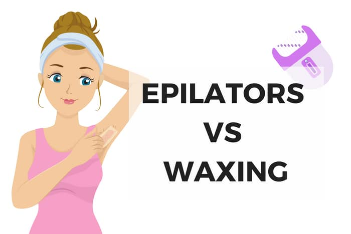 compare epilators vs waxing