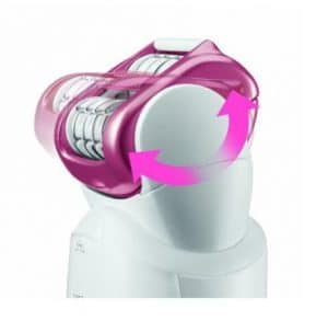 rotating head on Panasonic epilator