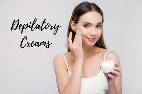 depilatory creams for facial hair removal